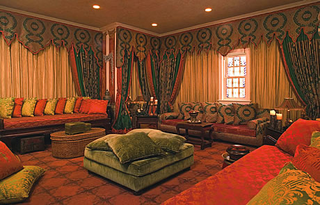 The Morocco room at Casa Casuarina